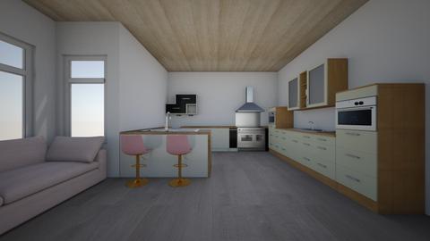 kitchen Lshaped - Kitchen - by Brights_brocks