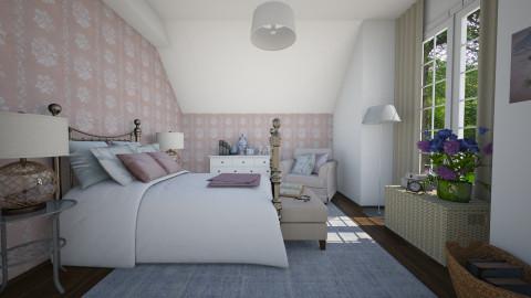New colors - Classic - Bedroom  - by Tuija