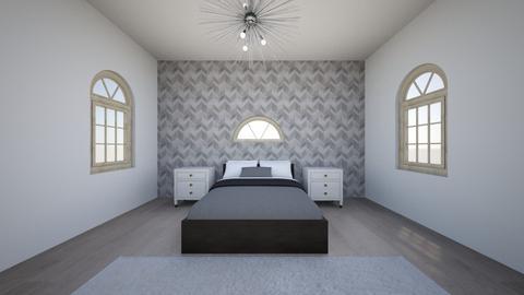 guest bedroom - Modern - Bedroom - by pop of color