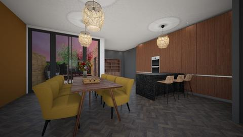 Woonkamertjee - Living room  - by Nickhof_