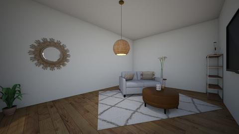 LivingRoom - Minimal - Living room  - by allie63