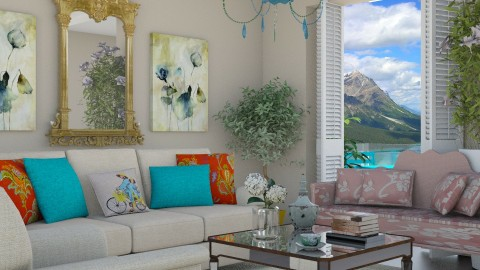 Summer Breeze - Living room  - by janelle1