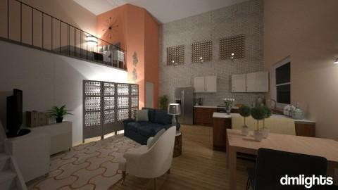 Open_Space - Feminine - Living room - by DMLights-user-1383470