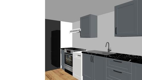 Downstairs Kitchen - Vintage - Kitchen - by 3146wwalnut