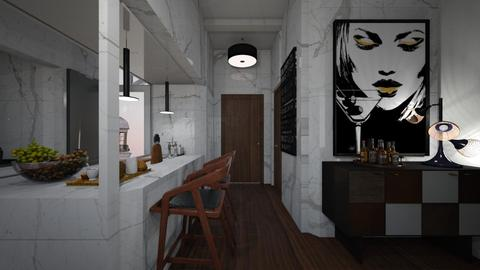 Casa207Hallway - Modern - Kitchen  - by nickynunes