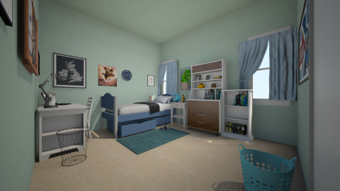Bedroom - Bedroom - by Abi Patterson