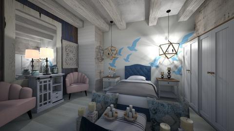 Island Bedroom - Country - Bedroom  - by Nikos Tsokos