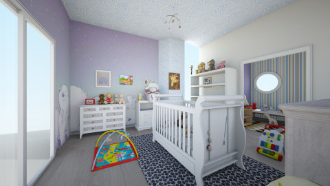 bears baby - Kids room  - by Lauris Osorio