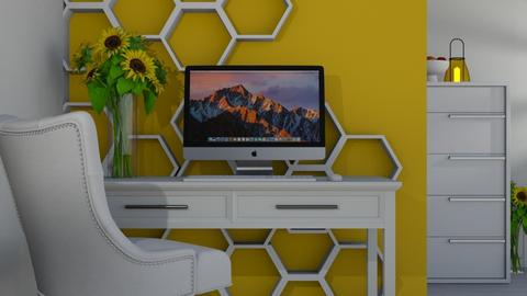 Beehouse Inspired Office - Office  - by ivetyy1010