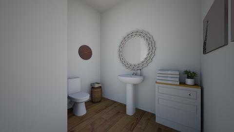 small bathroom - Bathroom - by Starsturck