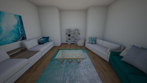 blue pop - Modern - Living room  - by ash04