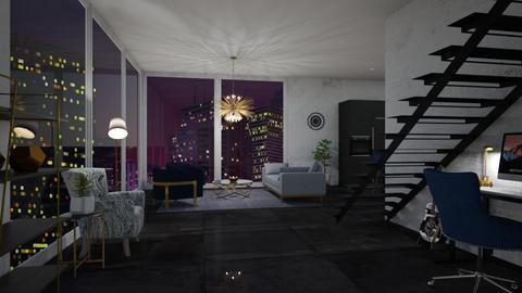 Skyline - Living room  - by veroval