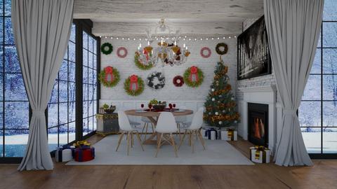 Festive Christmas - by bgref