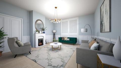 H A Z E L - Living room  - by blueberry_pie26
