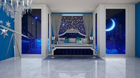 Night Time glam 21 - Glamour - Bedroom  - by fashiondesigner7