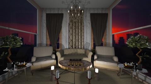 Lets_play_chess - Living room  - by Oryginal_nickname