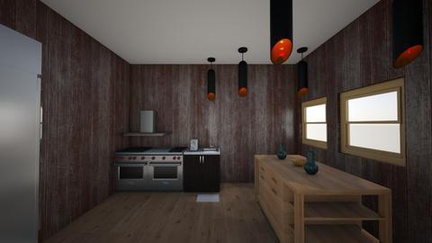 industrial kitchen - Kitchen  - by WinnieXPebbles