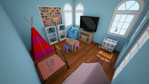 Playroom - Living room - by allieanderson2004