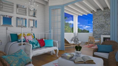 Beach Bedroom - Vintage - Bedroom  - by clairelist07
