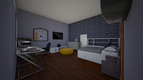 Felix room - Minimal - Bedroom  - by chinixxa
