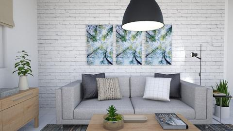 Quiet Living Spot - Minimal - Living room  - by Karla Cepeda Ramos