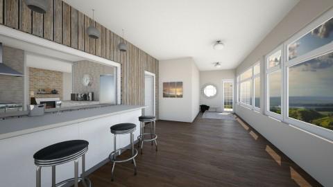Indoor Porch Bar - Rustic - by haz