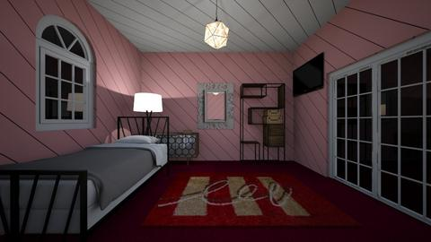 Bedroom pink - Bedroom  - by RoseRouge888