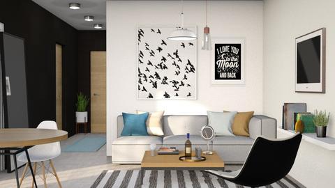 o_n - Living room - by its_eima