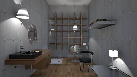 Stony - Modern - Bathroom  - by XiraFizade