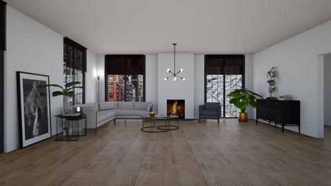Loft - Living room  - by Ontwerpstudio34