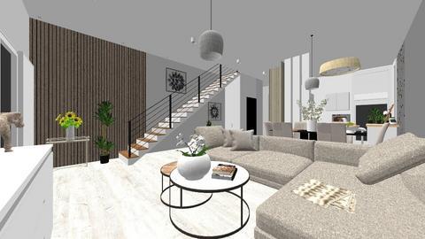 dla klientki - Living room  - by DERRYS
