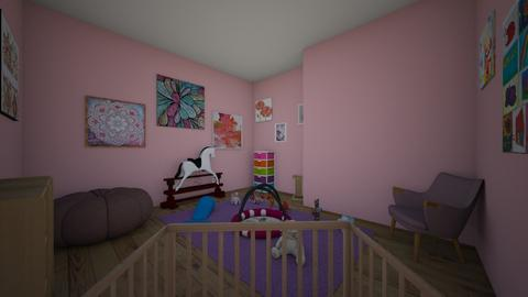 Cute girl nursery - Feminine - Kids room  - by i_want_to_be_an_interior_designer