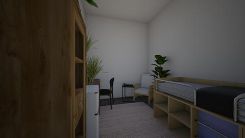 dorm2 - Bedroom  - by clairelist07