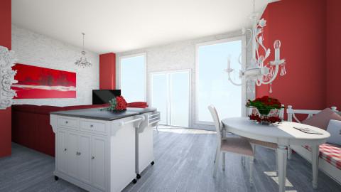 Romantic kitchen - Kitchen - by mireilllllle