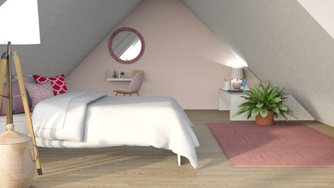 Cozy attic - Bedroom  - by Oyisha