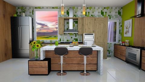 Summer Kitchen - by Feeny