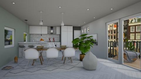 Apartment Redecoration - Modern - Living room  - by bgref