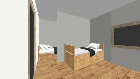 Habitacion chavales - Minimal - Bedroom  - by Cristinarh