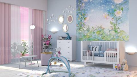 M_ In the land of fairies - Kids room  - by milyca8
