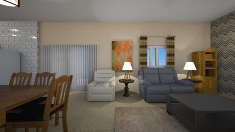 Desert Cozy - Living room  - by mspence03