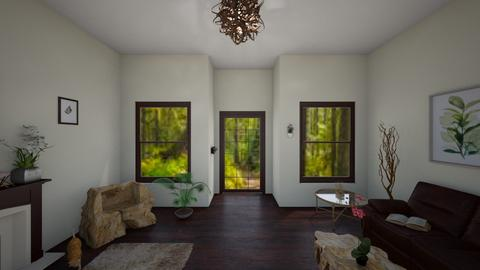 Pacific Northwest 4 - Rustic - Living room  - by Aurora Borealis