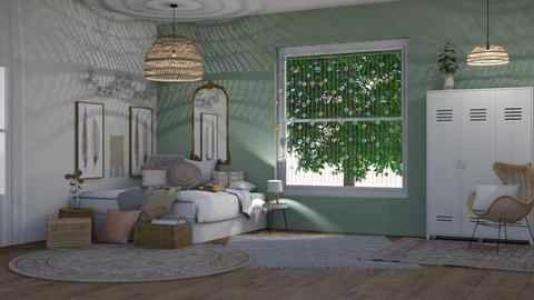 Boho chic - Modern - Bedroom  - by Angelic_Cuteness136
