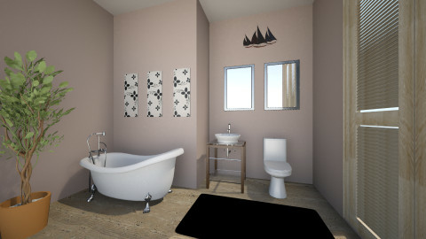 Contemporary Bath - Bathroom - by amynicole17
