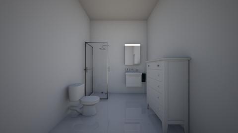 Cabanon SDB - Bathroom  - by theomolinengo