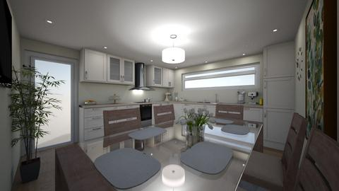 new kitchen down sitovo - Kitchen - by SilviDiMar