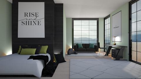 Modern House Pt 2 - Modern - Bedroom  - by LuluDesignStyle