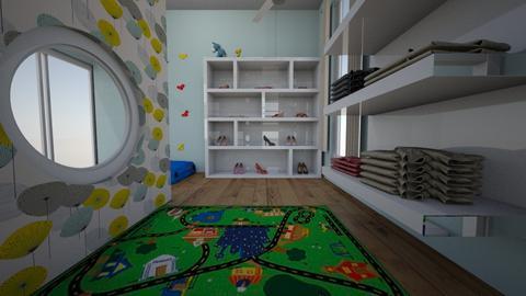task 1 EDCU12039 - Kids room  - by summercollins