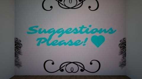 suggestions - by wolfyyyyy11