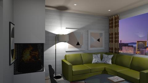 Congo St B2 - Modern - Living room - by Raymond Hill_Crate and Barrel_SFCA