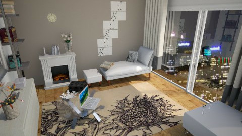 living room1 - Living room - by Melcsi30